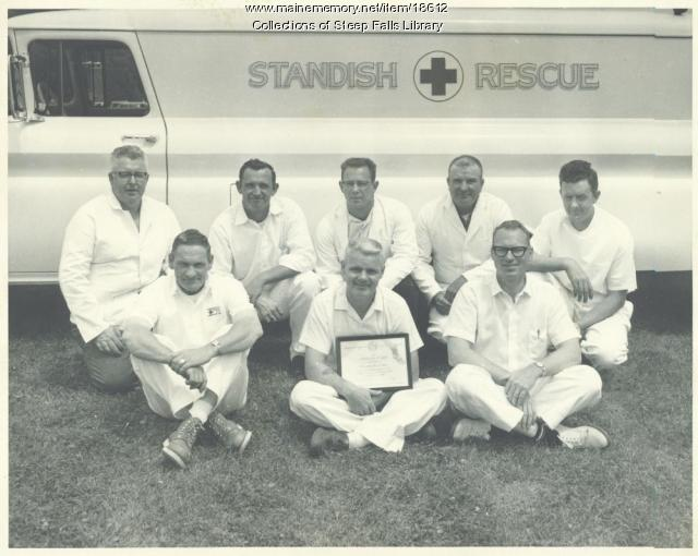 Standish Rescue crew, ca. 1960