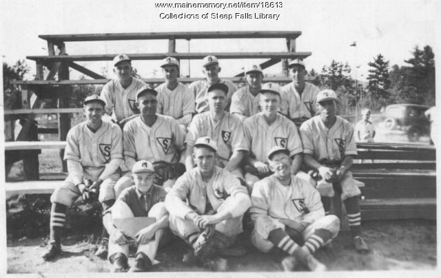Steep Falls Baseball Team