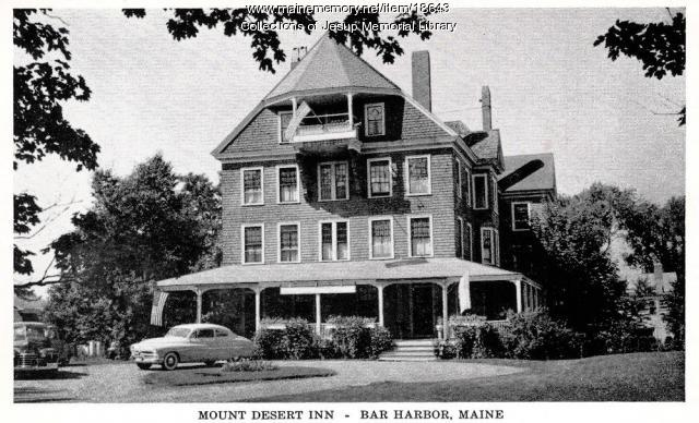Mount Desert Inn, Bar Harbor, ca. 1950