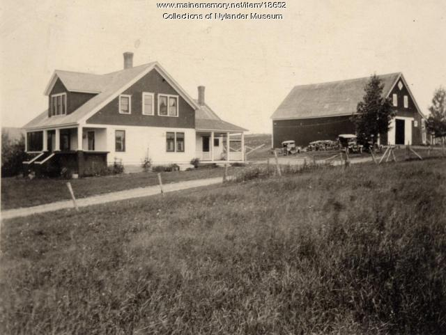 A. W. Johnson farm, New Sweden, ca. 1922