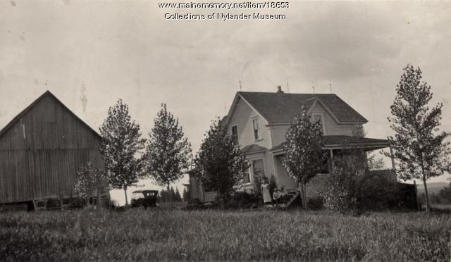 Axel Anderson farm, New Sweden, ca. 1922