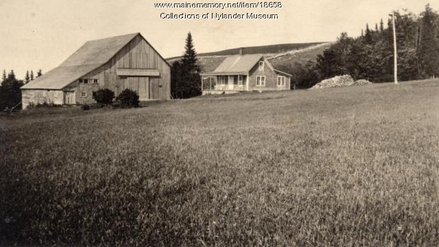 C. E. Adamson farm, New Sweden, ca. 1922
