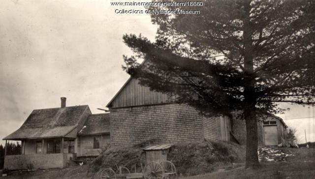 E. H. Anderson farm, New Sweden, ca. 1922
