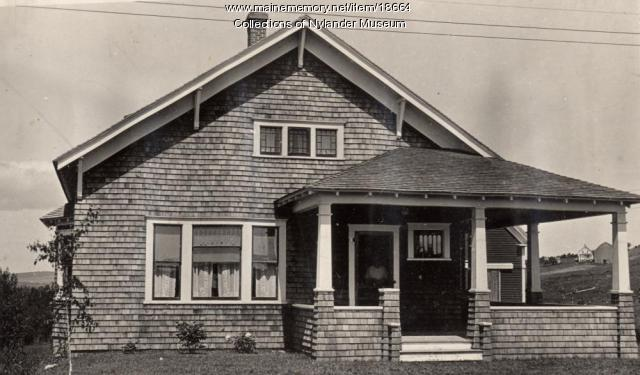 John W. Johnson house, New Sweden, ca. 1922