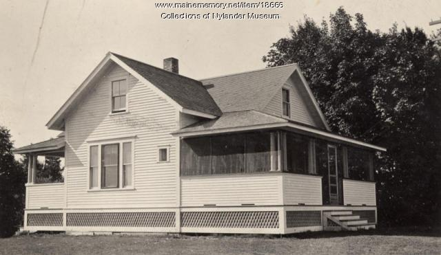 John Thenser house, New Sweden, ca. 1922