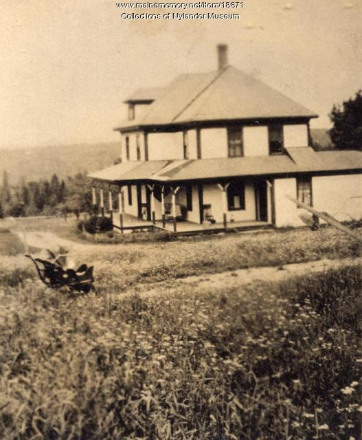 Oscar Hanson farm, New Sweden, ca. 1922