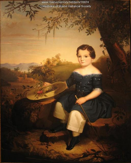James Clark Burnham, Portland, 1848