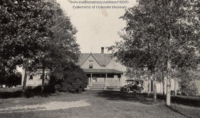 C. O. Wickstrom house, New Sweden, ca. 1922