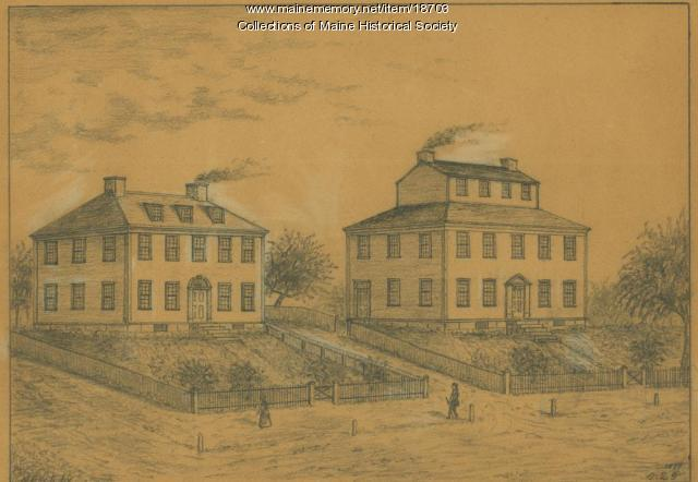 Codman and Savage's House in 1775
