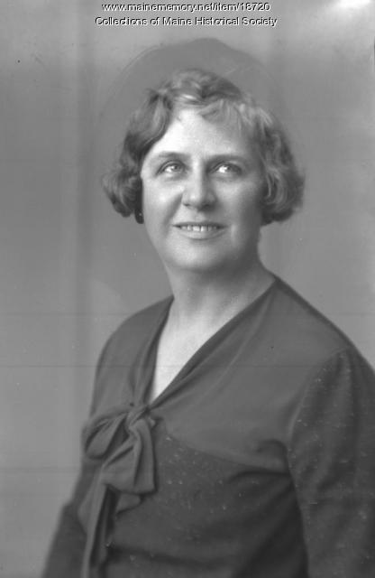 Ethel M. Wight, Portland, ca. 1934