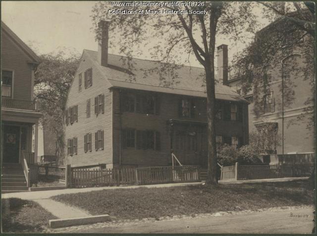 House on State Street, Portland, ca. 1870