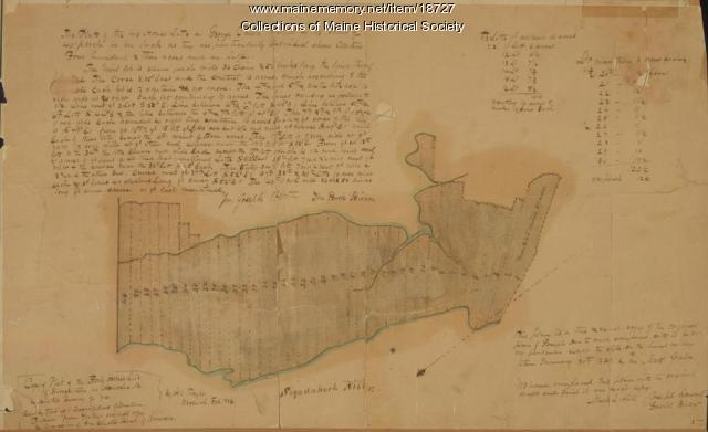 Plan of Georgetown, Maine