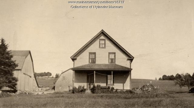 John Stenson farm, New Sweden, ca. 1922