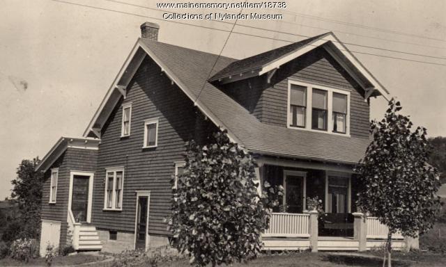 John Olander home, New Sweden, ca. 1922