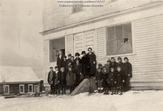 Capital Skolan, New Sweden, ca. 1922