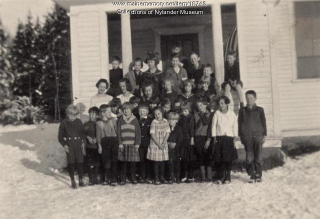 Station Skolan, New Sweden, ca. 1922