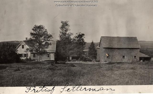 Fritiof Zetterman farm, New Sweden, ca. 1922