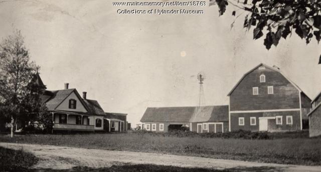 Emil Pearson farm, New Sweden, ca. 1922