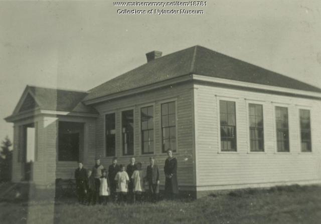 West Road Skolan, New Sweden, ca. 1922