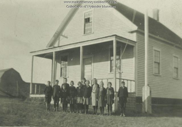 East Road Skolan, New Sweden, ca. 1922