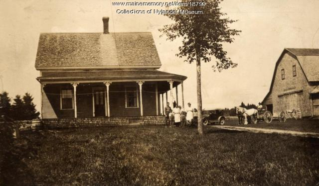 Carl A. Olivenbaum farm, New Sweden, ca. 1922