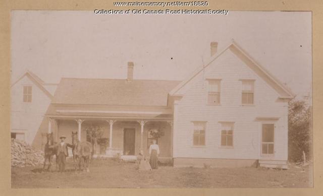 Residence of J.A. Merrill, Carratunk