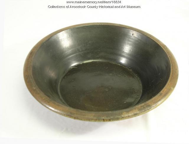 Sarah Houlton bowl, Houlton, 1807