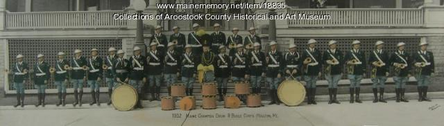 American Legion Post 47 Drum and Bugle Corps, Houlton, 1932