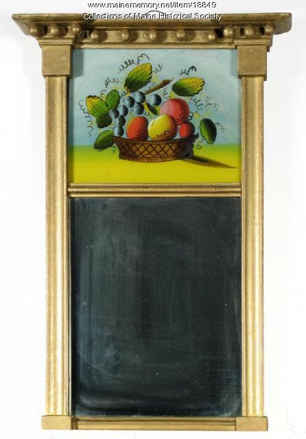 Mirror, Portland, ca. 1825