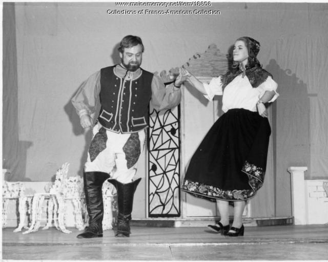 'The Merry Widow,' Lewiston, 1976