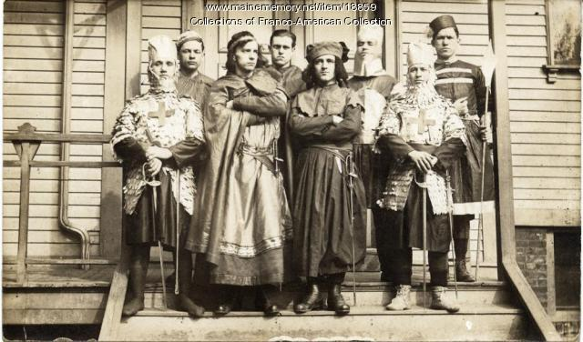 Les Défenseurs, Lewiston-Auburn, 1915