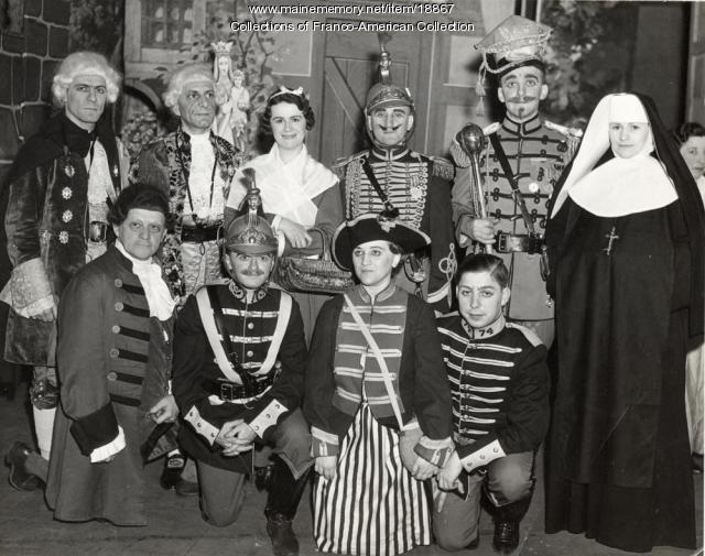 'La Fille du Tambour-Major,' Lewiston, 1936