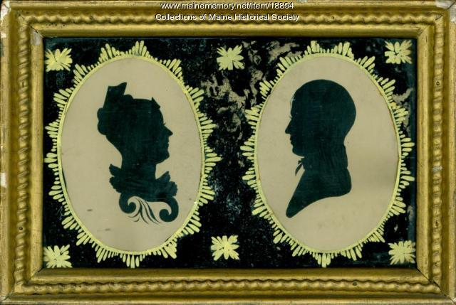Olive York and Isaac Sturdivant, Cumberland, ca. 1810
