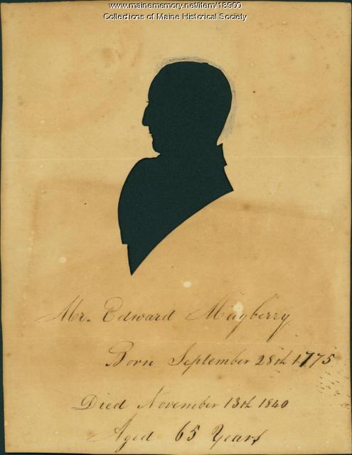 Edward Mayberry, Casco, ca. 1830