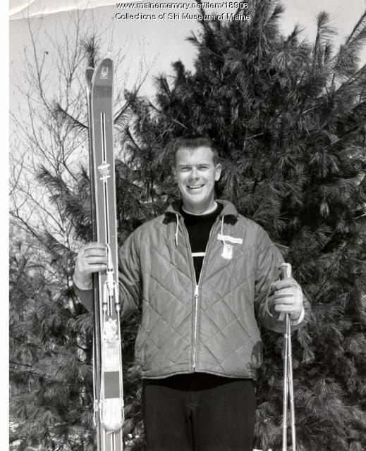 Pleasant Mountain ski instructor, ca. 1965