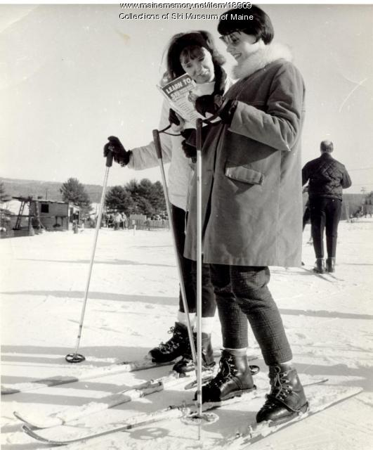 Skiers, Pleasant Mountain, Bridgton, 1963
