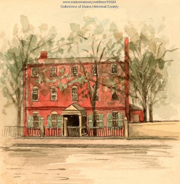 Wadsworth-Longfellow house, ca. 1904