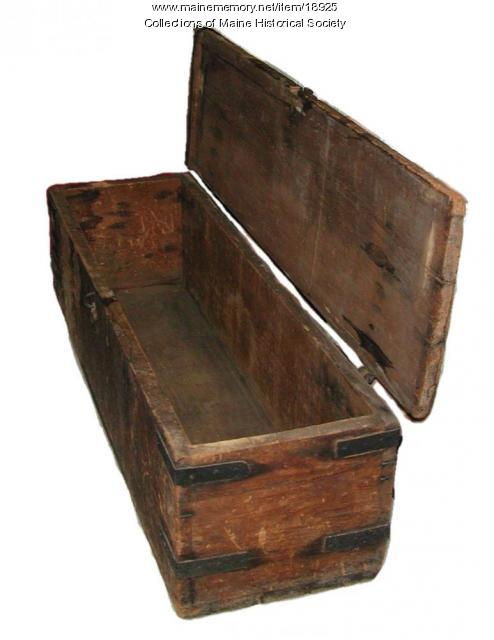 Chest from the ship Boxer, ca. 1813