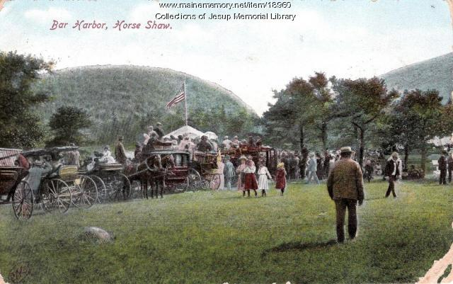 Bar Harbor Horse Show, ca. 1907