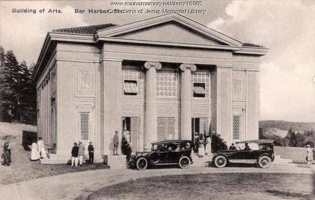 Building of Arts, Bar Harbor, ca. 1930