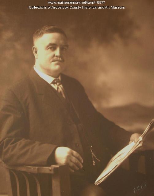 Elmer G. Bryson, Houlton, ca. 1915