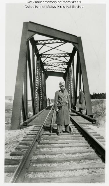 Pfc. Leonard Parks, North Yarmouth, 1942