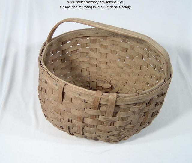 Potato Picker's Basket, Presque Isle, ca. 1940