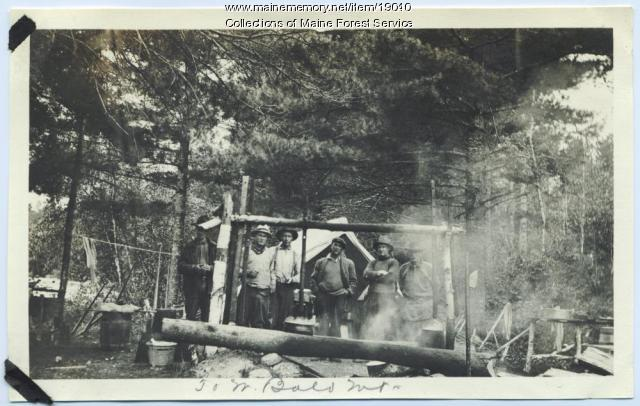 Forest Service crew, Bald Mountain