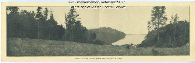 Scraggley Lake, Patten, ca. 1930