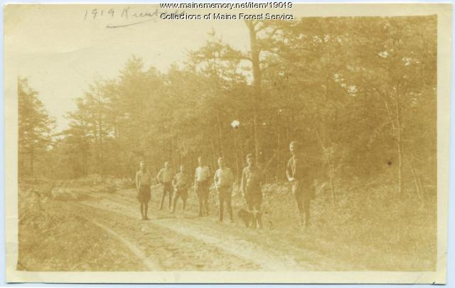 Forest Service crew, 1919