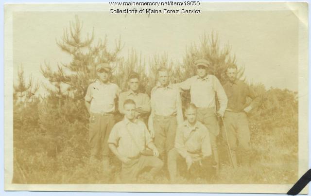 White Pine blister rust crew, 1919
