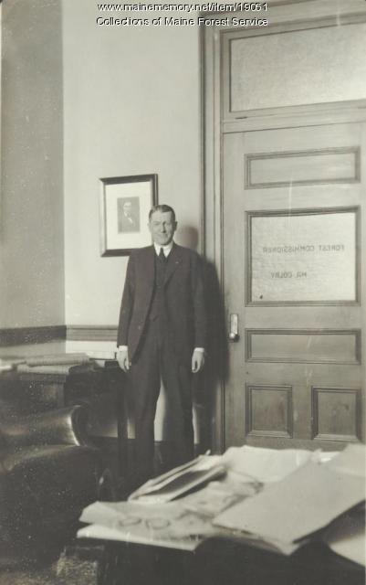 Forrest H. Colby, Augusta, ca. 1920