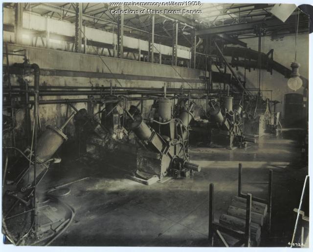 Grinder room, Madison Mill, ca. 1920