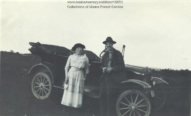 Forest Service watchwoman, 1920